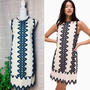 Kate Spade Sand Dune Lace Mini Shift Dress